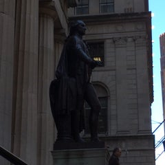 Photo taken at George Washington Statue by Bill A. on 5/31/2014