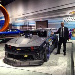 Photo taken at Chicago Auto Show by @steveGOgreen on 2/9/2013