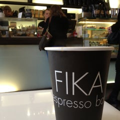 Photo taken at FIKA Espresso Bar by Solomon L. on 5/13/2013