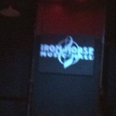 Photo taken at Iron Horse Music Hall by Jeffrey D. on 12/29/2014