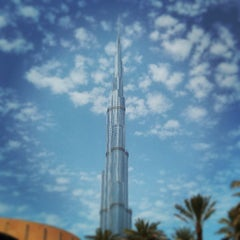 Photo taken at Burj Khalifa by Paul B. on 7/26/2013