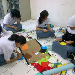 Photo taken at SMAN 28 Jakarta by Yuna Q. on 7/26/2013