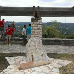 Photo taken at Covert Park at Mt. Bonnell by Joseph T. on 7/4/2013