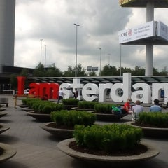 Photo taken at Amsterdam Airport Schiphol (AMS) by Zeeshan K. on 7/4/2013