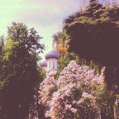 Photo taken at Новодевичий монастырь by Natalia S. on 5/19/2013
