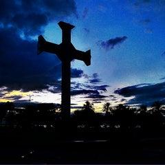 Photo taken at Plaza de la Cruz by Jose Rafael C. on 11/22/2013
