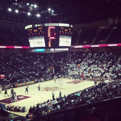 Photo taken at Reed Arena by Jesse J. on 2/8/2013