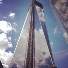 Photo taken at One World Trade Center by Kenny on 9/16/2012