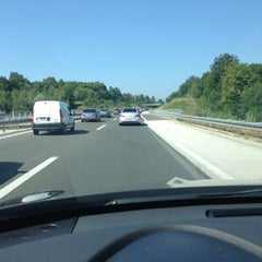 Photo taken at Autocesta A1 by Ozren T. on 7/27/2013