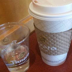 Photo taken at Panera Bread by Christine C. on 3/17/2014