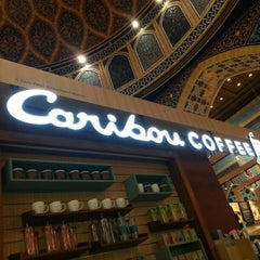 Photo taken at Caribou Coffee by JC C. on 10/11/2012