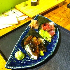 Photo taken at Sushi Kimura by Edu L. on 10/26/2012