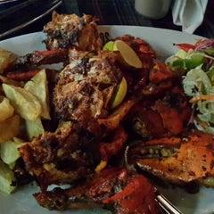 Photo taken at Brittos Bar & Restaurant by Adithyan V. on 7/17/2013