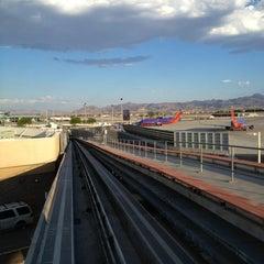 Photo taken at Las Vegas Airport Tram by Lauren ♔. on 8/16/2013