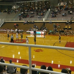 Photo taken at Martz Hall by K C. on 12/27/2012