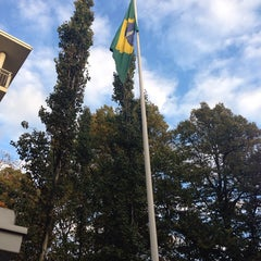 Photo taken at Embassy of Brazil by Sergio M. on 10/7/2013