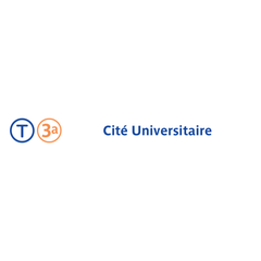 Photo taken at Station Cité Universitaire [T3a] by RATP on 7/9/2013