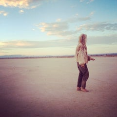 Photo taken at El Mirage Dry Lake by Shannon D. on 7/20/2014