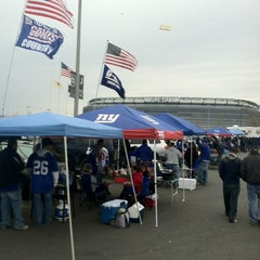 Photo taken at Meadowlands Parking Lot by Michael L. on 10/7/2012