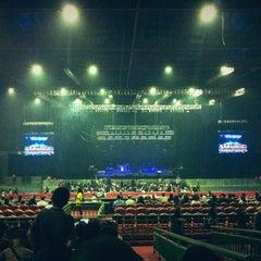 Photo taken at Mata Elang International Stadium (MEIS) by Aris N. on 12/15/2012