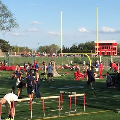 Photo taken at Hinsdale Central High School by Brent H. on 5/9/2014