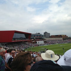 Photo taken at Emirates Old Trafford by James R. on 8/2/2013