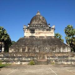 Photo taken at Wat Visuonnaradh by Lanvin L. on 11/4/2013