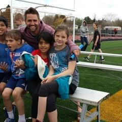Photo taken at Garry Berry Stadium by Maida C. on 5/14/2014