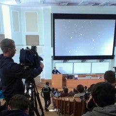 Photo taken at Шуваловский корпус МГУ by Svetlana A. on 10/14/2012