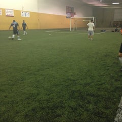 Photo taken at Soccerdome by eddie b. on 8/17/2013
