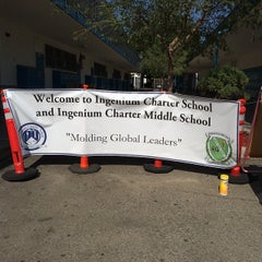 Photo taken at Ingenium Charter School by Narciso A. on 8/4/2014