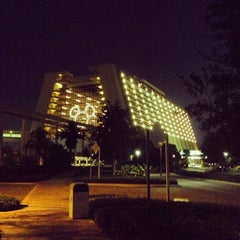 Photo taken at Disney's Contemporary Resort by Sean R. on 12/9/2012