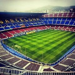 Photo taken at Camp Nou by Zakhar K. on 7/14/2013