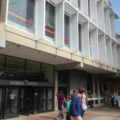 Photo taken at Harvard Science Center by Yong-Gu B. on 10/6/2012