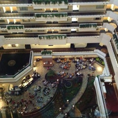 Photo taken at Embassy Suites San Diego Bay - Downtown by Kat S. on 3/31/2013