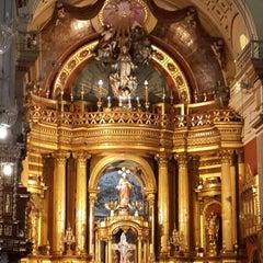 Photo taken at Iglesia San Pedro de Lima by Susy Q. on 10/7/2013