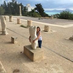 Photo taken at Carthage National Museum I Le musée national de Carthage I المتحف الوطني بقرطاج by Titisuda S. on 10/22/2015