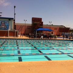 Photo taken at Hillenbrand Aquatic Center by Robert J. on 9/24/2013