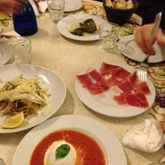 Photo taken at Antica Enoteca by Christophe A. on 12/25/2012