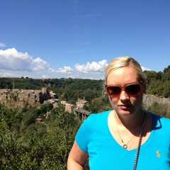 Photo taken at Calcata by Nat *. on 9/14/2014