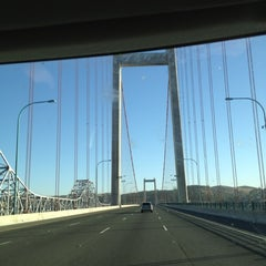 Photo taken at Carquinez Bridge by Mimi N. on 10/18/2012