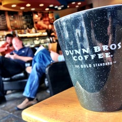 Photo taken at Dunn Bros Coffee by Brad M. on 2/3/2013