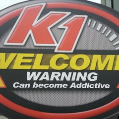 Photo taken at K1 Speed Anaheim by Nic R. on 4/14/2013