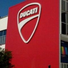 Photo taken at Ducati Motor Factory & Museum by Tatiana P. on 3/18/2013