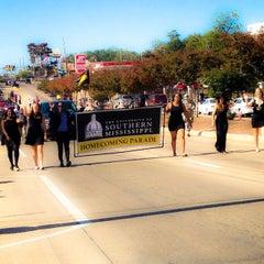 Photo taken at The University of Southern Mississippi by Brandi M. on 11/8/2014