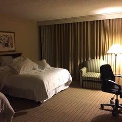 Photo taken at Sheraton Pasadena Hotel by Alex L. on 6/19/2015