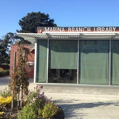 Photo taken at Marina Branch Library by Alex L. on 10/18/2013