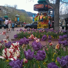 Photo taken at Pearl Street Mall by Teri P. on 5/14/2013