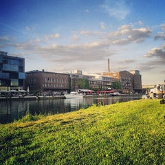 Photo taken at Hafen by Lisa E. on 6/4/2013
