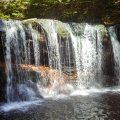 Photo taken at Ricketts Glen State Park by Eric S. on 8/25/2013